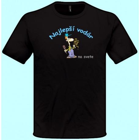 Tričká s potlačou - Najlepší vodár (pánske tričko)