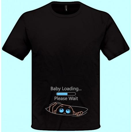 Tričká s potlačou - Baby Loading (pánske tričko)