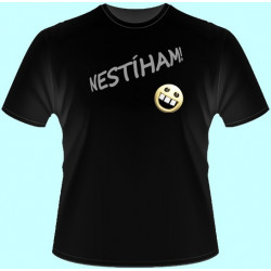 Tričká s potlačou - Nestíham (dámske tričko)