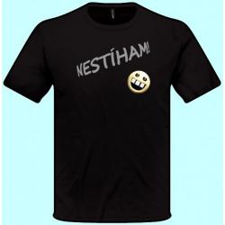 Tričká s potlačou - Nestíham (pánske tričko)