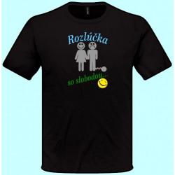 Tričká s potlačou - Rozlúčka so slobodou (pánske tričko)