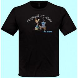 Tričká s potlačou - Najlepší IT-čkár (pánske tričko)
