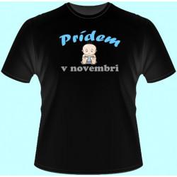 Tričká s potlačou - Prídem v Váš mesiac (dámske tričko)