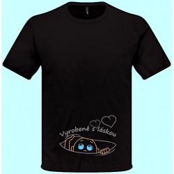 Tričká s potlačou - Vyrobené s láskou (pánske tričko)