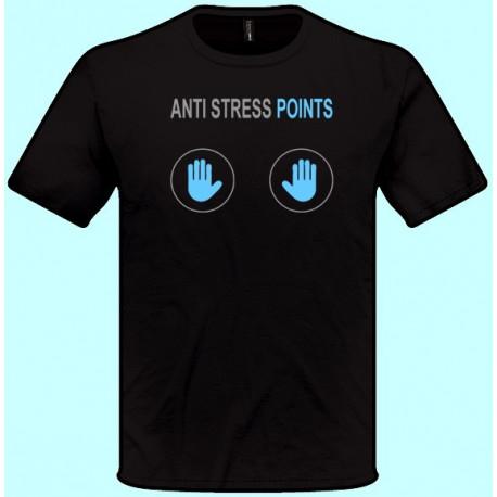 Tričká s potlačou - Anti stress points (pánske tričko)