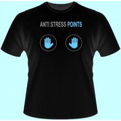 Tričká s potlačou - Anti stress points (dámske tričko)