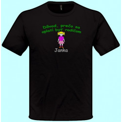 Tričká s potlačou - Dôvod prečo sa oplatí byť rodičom (pánske tričko)