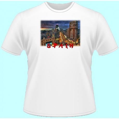 Tričká s potlačou - Španielsko (dámske tričko)