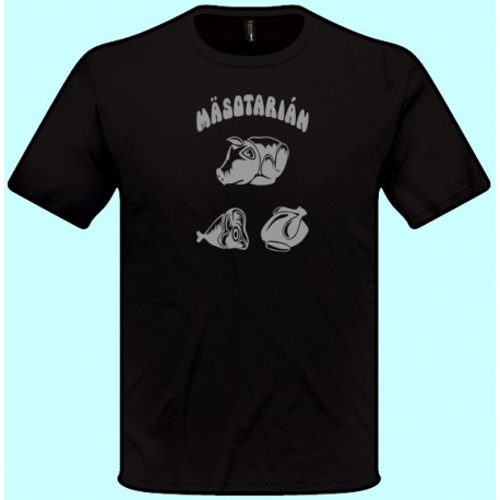 Tričká s potlačou - Mäsotarián (pánske tričko)