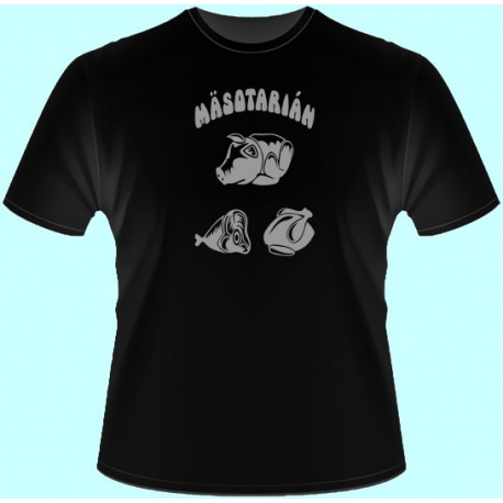 Tričká s potlačou - Mäsotarián (dámske tričko)