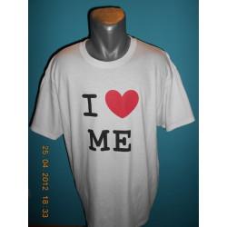 Tričká s nápismi - I love Me