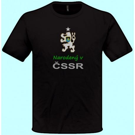 Narodený v čssr (pánske tričko)