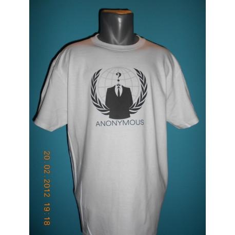 Tričká s nápismi - Anonymous