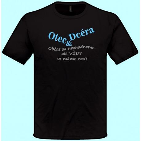 Tričká s potlačou - Otec a Dcéra (pánske tričko)