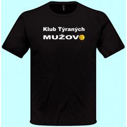 Tričká s potlačou - Klub týraných mužov (pánske tričko)