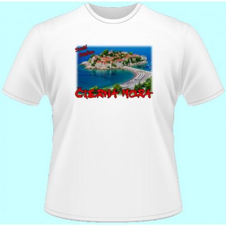 Tričká s potlačou - Čierna Hora (dámske tričko)