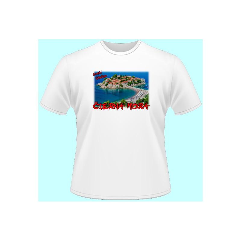518b6c225796 Tričká s potlačou - Čierna Hora (dámske tričko) - Emerikano.sk