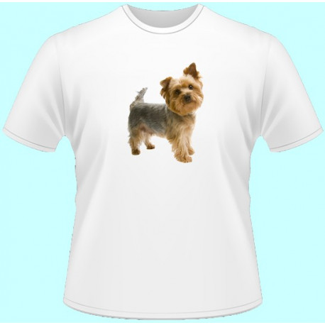Tričká s potlačou zvierat - Jorkšírsky teriér (dámske tričko)