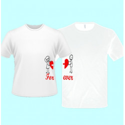 e27cffa5b Dámske tričká s potlačou pre páry - tričká pre dvoch - Emerikano.sk