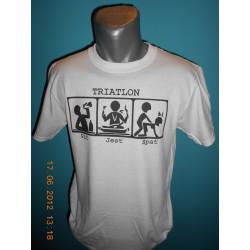 Tričká s nápismi - Triatlon
