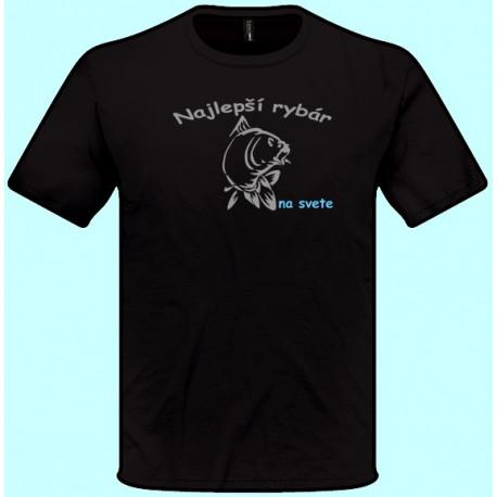 Tričká s potlačou - Najlepší rybár (pánske tričko)