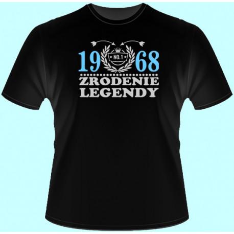 Tričká s potlačou - Zrodenie legendy Váš rok (dámske tričko)