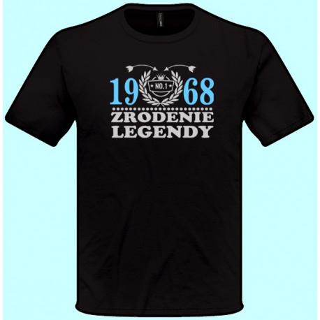 Tričká s potlačou - Zrodenie legendy Váš rok (pánske tričko)
