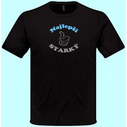 Tričká s potlačou - Najlepší starký (pánske tričko)