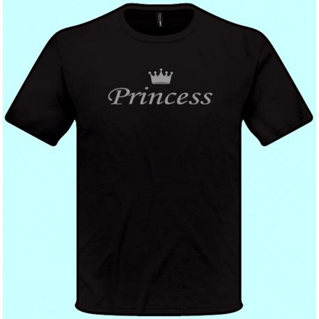 Tričká s potlačou - Princess (pánske tričko)