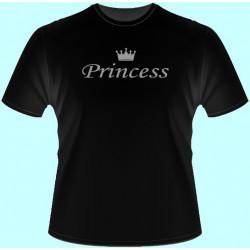 Tričká s potlačou - Princess (dámske tričko)