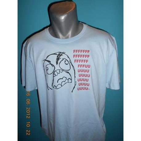 Tričká s nápismi - Fuuu