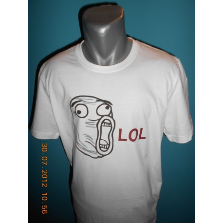 Tričká s nápismi - LOL