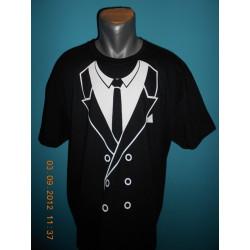 Tričká s nápismi - Oblek