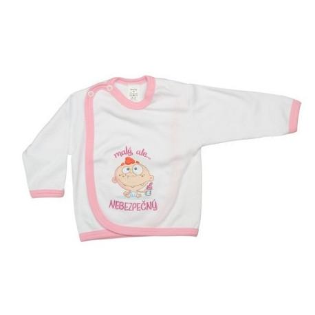 Malý ale nebezpečný (ružová) - Prekladací kabátik