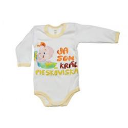 Ja som kráľ pieskoviska - Detské body (Dlhý rukáv)