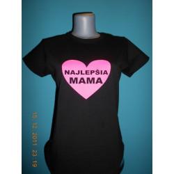 Tričká s nápismi - Najlepšia mama