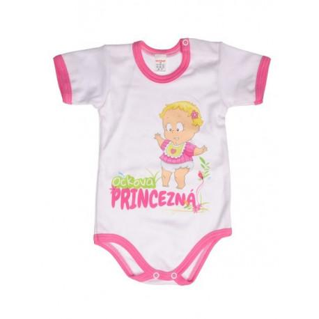 Ockova princezná - Detské body (Krátky rukáv)