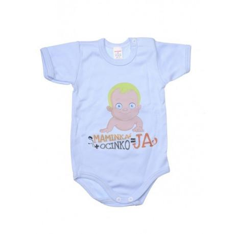 Maminka + ocinka JA - Detské body (Krátky rukáv)