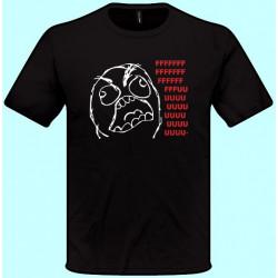 Vtipné tričká - Fuuu (pánske tričko)