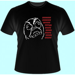 Vtipné tričká - Fuuu (dámske tričko)