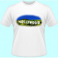 Tričká s potlačou - Hollywood (dámske tričko)