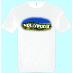 Tričká s potlačou - Hollywood (pánske tričko)