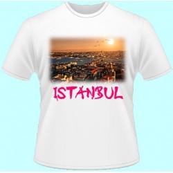 Tričká s potlačou - Istanbul (dámske tričko)