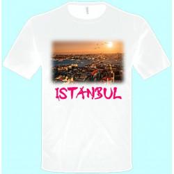 Tričká s potlačou - Istanbul (pánske tričko)