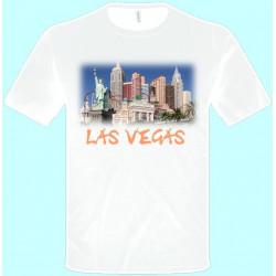 Tričká s potlačou - Las Vegas (pánske tričko)