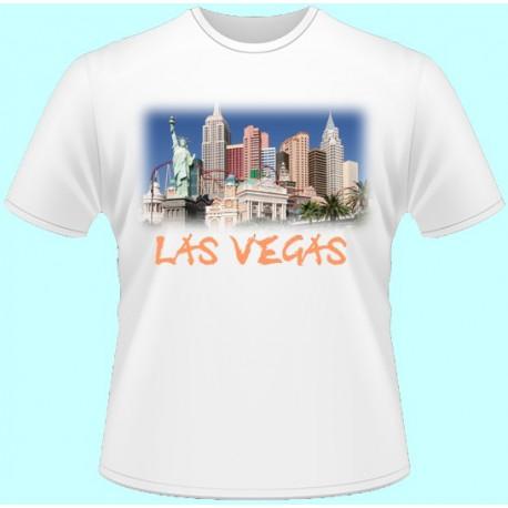 Tričká s potlačou - Las Vegas (dámske tričko)