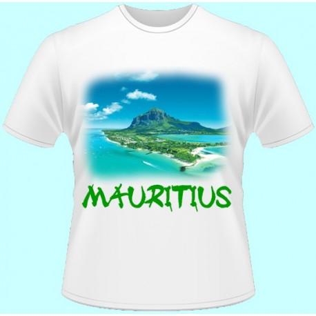 Tričká s potlačou - Maurícius (dámske tričko)