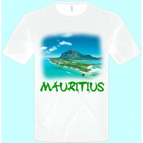 Tričká s potlačou - Maurícius (pánske tričko)