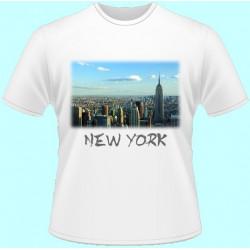 Tričká s potlačou - New York (dámske tričko)