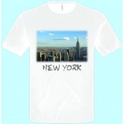 Tričká s potlačou - New York (pánske tričko)